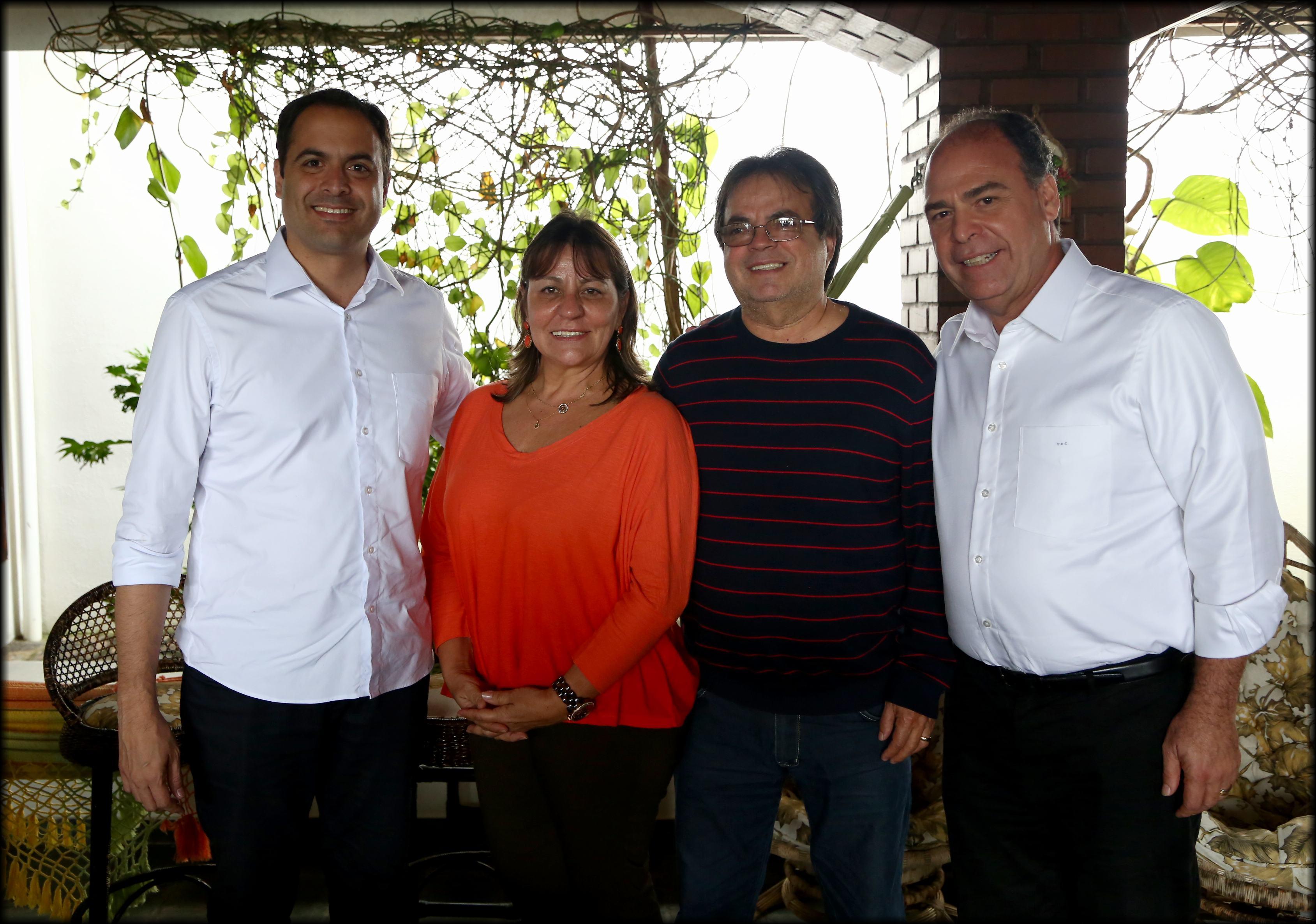 Vice-prefeita Rosa e ex-prefeito Bartolomeu