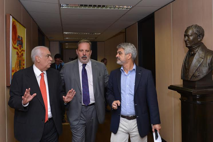 Humberto Costa Armando Monteiro e o ministro dos Transportes