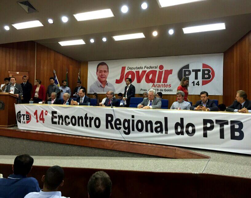 encontro regional PTB-GO