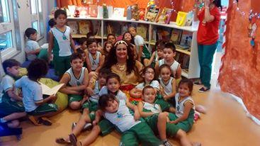 Clube da Leitura com a Cigana Contadora de Estórias