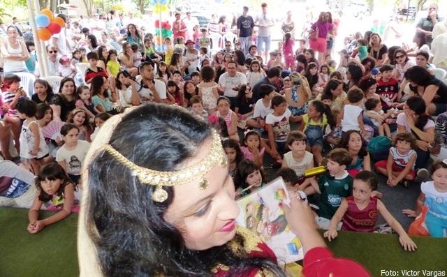 A Cigana Contadora de Estórias - Foto Victor Vargas - Guanabara Comunicação