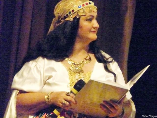 A Cigana Contadora de Estórias - Foto Victor Vargas