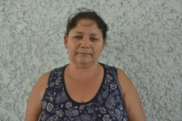 Maria Marineide foi uma das acompanhantes a criticar a unidade