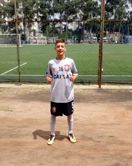 atleta Caruaru City no Corinthians