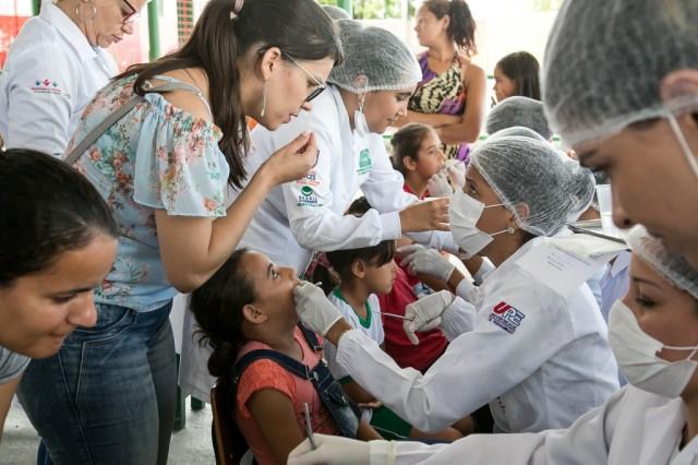 Ação de Saúde Bucal - Foto Jorge Farias