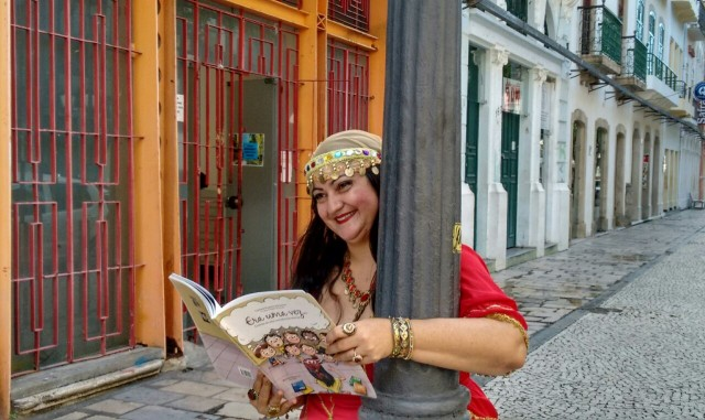 A Cigana Contadora de Estórias - Foto Victor Vargas - Guanabara